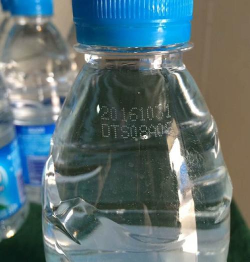 喷码机在饮用水上的应用